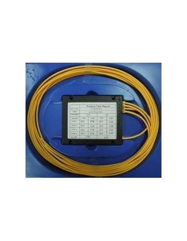 Оптичен сплитер PLC 1x4 без конектори MegaF - 1