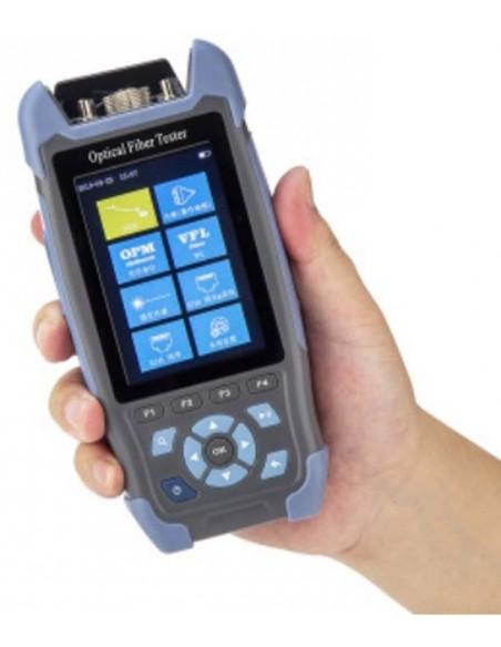 Smart OTDR Handheld + Power meter + VFL + Laser Source + Lan Tester  - 2