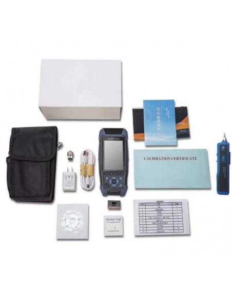 Smart OTDR Handheld + Power meter + VFL + Laser Source + Lan Tester  - 10