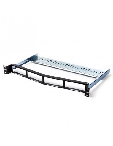 Patch panel for 4 CO Quick-Fit module, 1U,Angled COMMSCOPE - 1