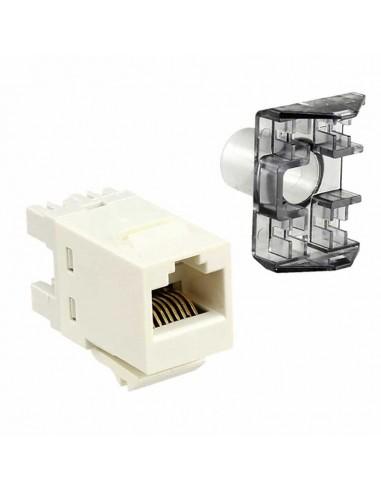 Инсърт AMP, SL 110 Connect JACK, U/UTP, CAT 6, без капаче, бял COMMSCOPE - 1