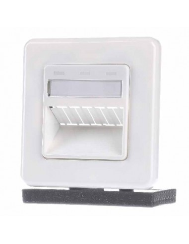 3-PORT 80x80 DIN OUTLET, WHITE COMMSCOPE - 1