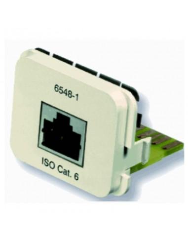 Insert CO Plus 1 x RJ45 cat.6 1Gb/s, Almond COMMSCOPE - 1