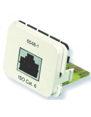 Insert CO Plus 1 x RJ45 cat.6 1Gb/s, White COMMSCOPE - 1
