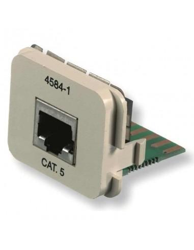 Insert CO Plus 1 x RJ45 cat.5e 1Gb/s, Almond COMMSCOPE - 1