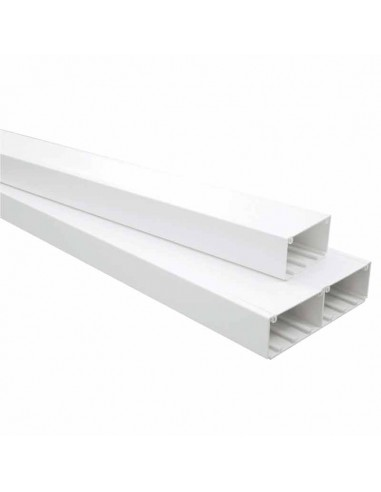 PVC Cable Trunking 90x50 mm for modules and outlets - 2