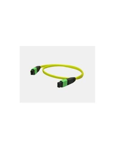 Оптичен кабел с накрайници MPO, сингъл мод 12 влакна, 10 метра MegaF - 1