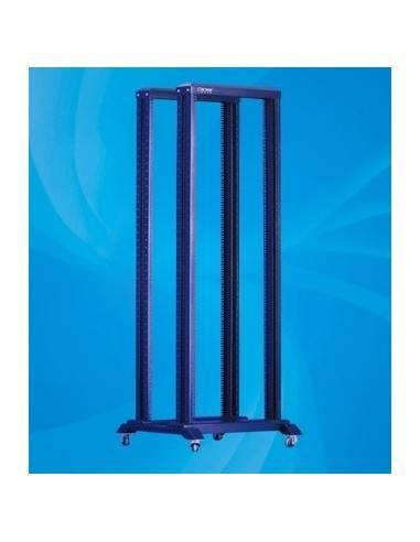 42U Double open rack - 19 inch, 600x800 mm MegaS / ZPAS - 1