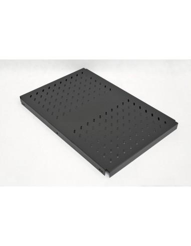 "Fixed shelf for SZBSE 465 (19"") x 700 mm, black MegaS / ZPAS - 1"