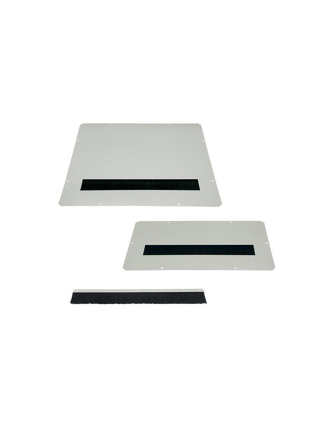Cable Entry Plate With Brush Strip For 380x210
