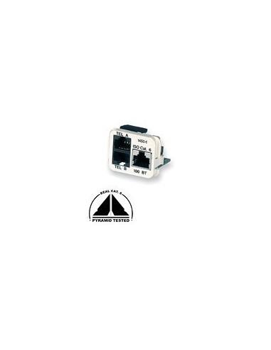 Insert CO Plus 3 x RJ45 for Shunt Phones, Almond COMMSCOPE - 1