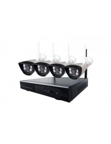 Wireless IP camera surveillance kit