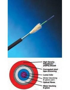 Fiber optic cable12 fibers,...