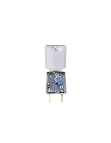 Оптична стенна кутия за 4 влакна, 1xLC четворен адаптер, Сингълмод COMMSCOPE - 1