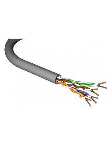 MegaD CAT.6 stranded cable shielded FTP, 4x2xAWG24/7, PVC, grey - 305 m MegaD - 1