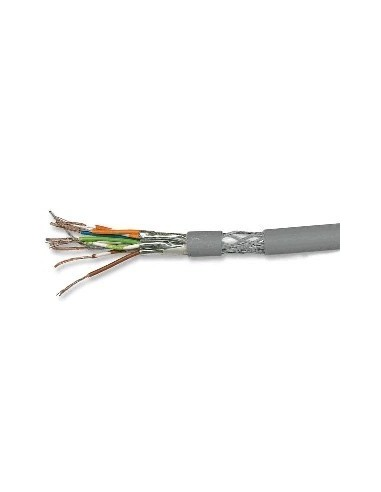 DRAKA UC900SS27 CAT.7 stranded cable, 1000MHz, PiMF, 4x2xAWG27/7, grey - 500m Draka - 1