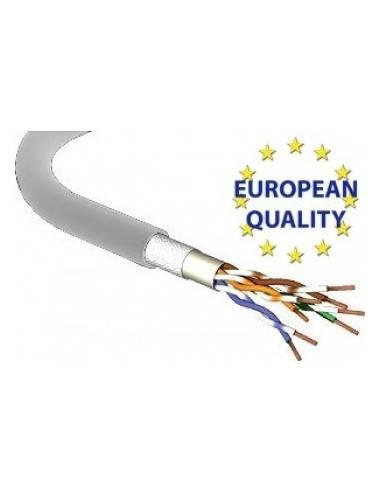 MegaC CAT.5e stranded cable, 200MHz, U/UTP, 4x2xAWG26/7, PVC, grey - 100 meter MegaC - 1
