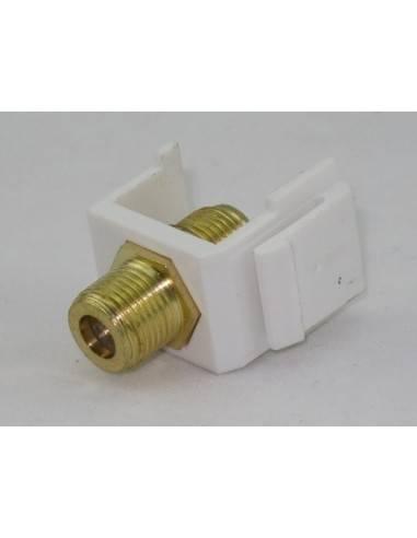 F-конектор за монтаж в пач панел или розетка MegaC - 1