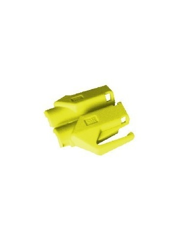 HIROSE TM21 strain relief boot for plug 376410,yellow  - 1