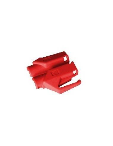 HIROSE TM21 strain relief boot for plug 376410,red  - 1