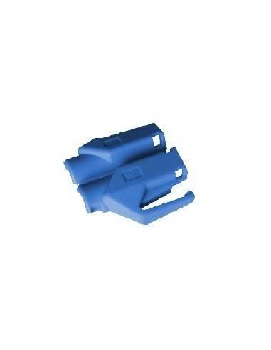 HIROSE TM21 strain relief boot for plug 376410,blue  - 1