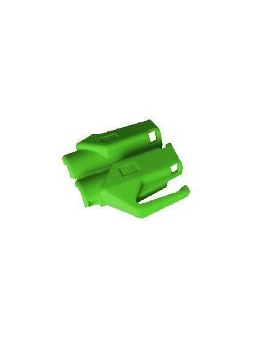 HIROSE TM21 strain relief boot for plug 376410,green  - 1
