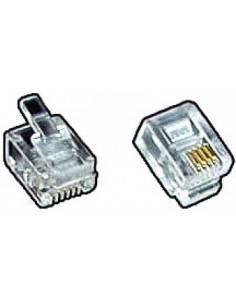 modular plug, RJ12 6P6C for...