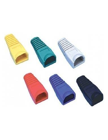 Modular cable boot for RJ45, blue  - 1