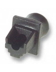 RJ45 blind plug, black, for...