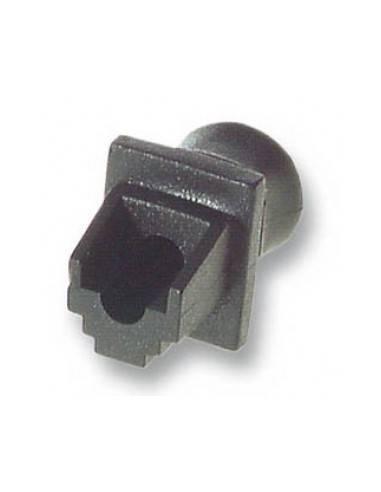 MegaC/D RJ45 blind plug, black, for patch panels and wallplates MegaC - 1