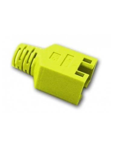 HIROSE TM11 strain relief boot for plug 137541, yellow  - 1