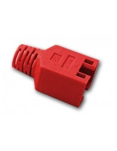 HIROSE TM11 strain relief boot for plug 137541, red  - 1