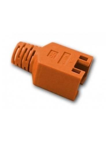 HIROSE TM11 strain relief boot for plug 137541, orange  - 1