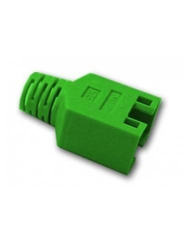 HIROSE TM11 strain relief boot for plug 137541, green  - 1