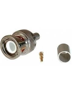 BNC plug, crimp RG 58, 50...