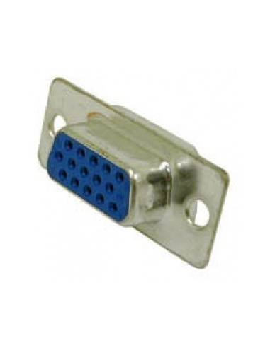 DSUB Connector, solder, DBHD15 female  - 1