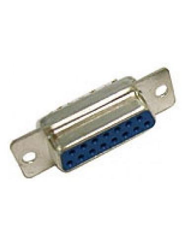 DSUB Connector, solder, DB15 female  - 1