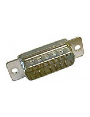 DSUB Connector, solder, DB15 male  - 1