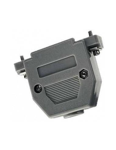 DSUB hood, plastic, grey, for DB25  - 1
