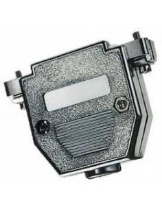 DSUB hood, metalized, for DB25