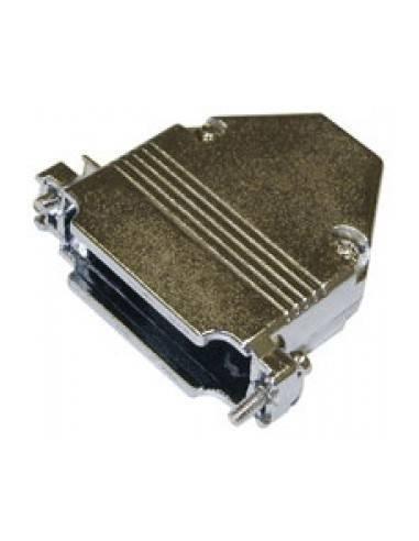 DSUB hood, full metal, for DB25  - 1