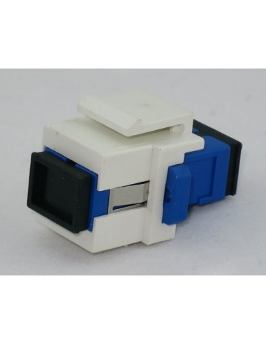 Adapter from SC Simplex fiber optic adapter to RJ45 housing MegaF - 1
