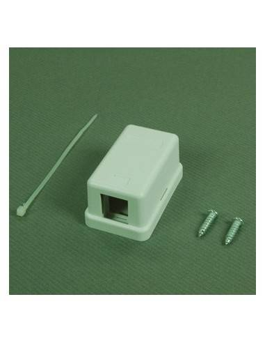 One port surface mount box for keystone jack Linkbasic - 1