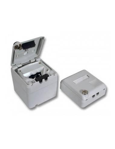 MegaC/D KDO case for wallplates, AP, RAL7035, lockable, IP44 MegaC - 1