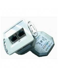 SETEC L6 CAT.6 wallplate...