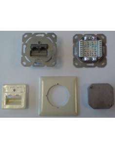 MegaD CAT.6a wallplate, UP,...
