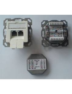MegaD CAT. 6a wallplate,...