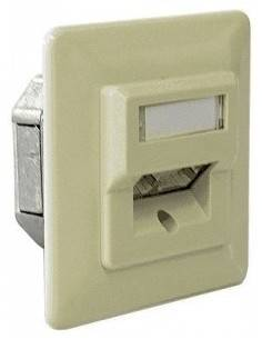 MegaC CAT.5e wallplate UP,...