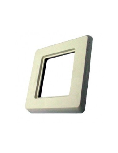SETEC module system, coverplate XKJ / UKY, 80x80mm, RAL9010  - 1