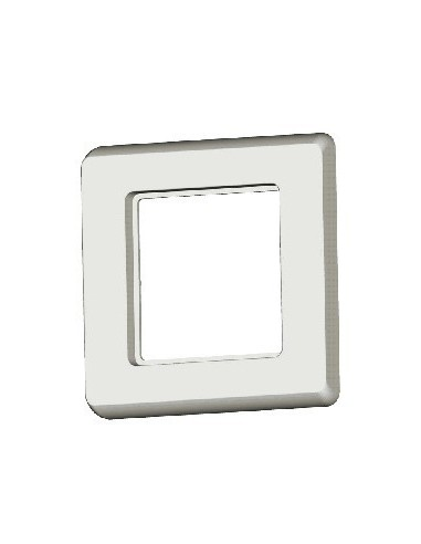 SETEC module system, coverplate XKJ / UKY, 80x80mm, RAL1013  - 1